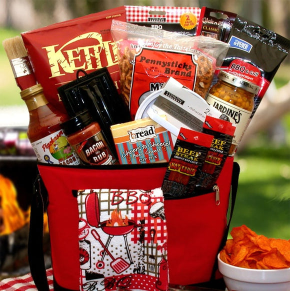 Master Griller BBQ Gift Chest - Fine Gifts La Bella Basket Company