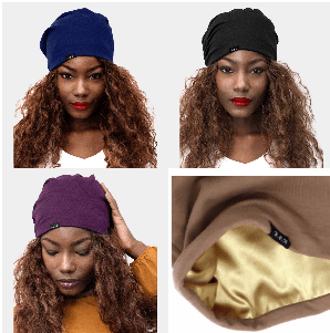 Solid Satin Lined Beanie
