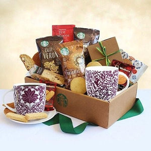 Classic Starbucks Coffee - Fine Gifts La Bella Basket Company