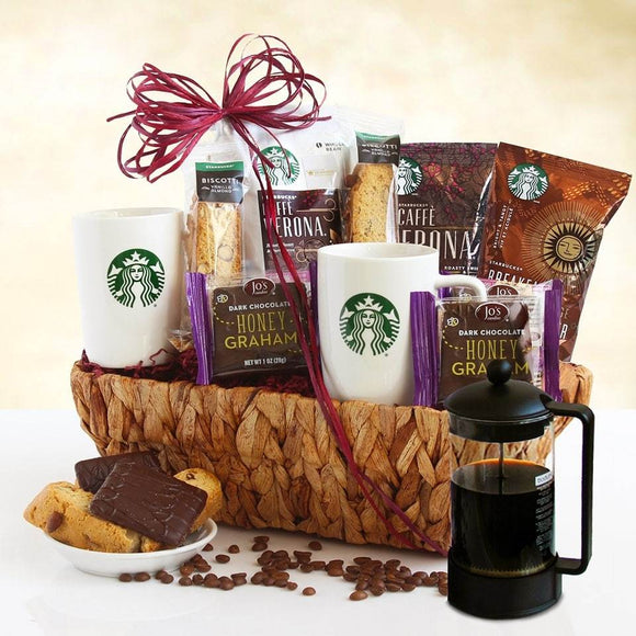 STARBUCKS PRESS LOVER'S - Fine Gifts La Bella Basket Company