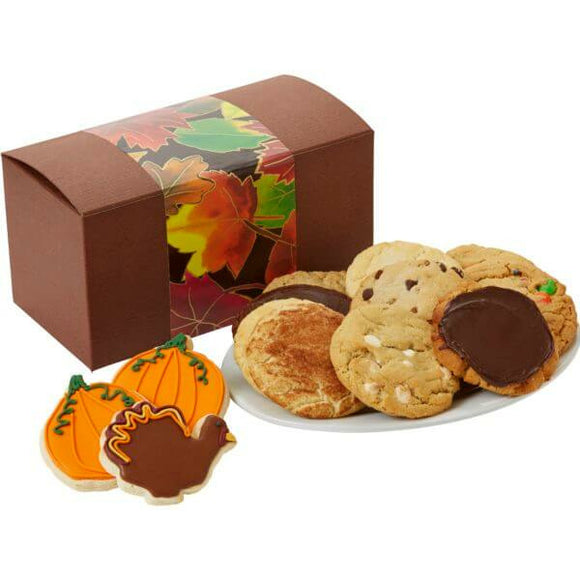 Thanksgiving Cookie Box 8 - Fine Gifts La Bella Basket Company