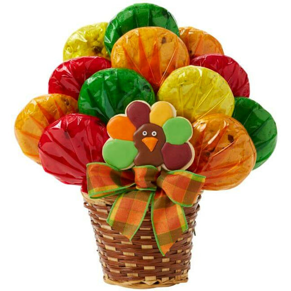 Turkey Cookie Bouquet