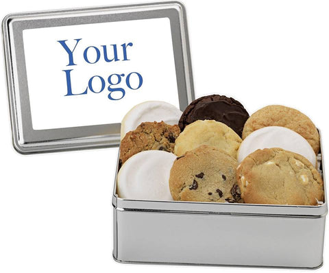Custom Photo Cookie Tin - Fine Gifts La Bella Basket Company