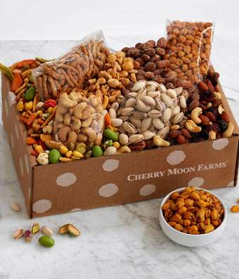 Love to Snack Box - Fine Gifts La Bella Basket Company