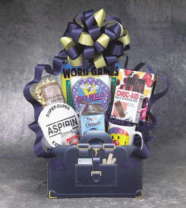 Doctor's Orders - Large Get Well Gift Box - Fine Gifts La Bella Basket Company