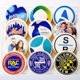 Custom Logo and Event Cookies - Fine Gifts La Bella Basket Company