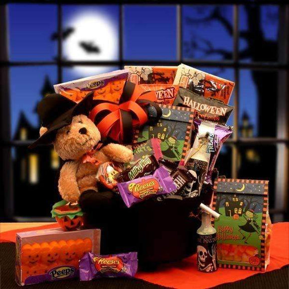 Witches Brew Halloween Cauldron - Fine Gifts La Bella Basket Company