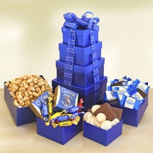 Tower of Kosher Treats