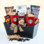 Starbucks For Dad - Fine Gifts La Bella Basket Company