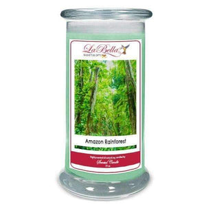 Amazon Rainforest Scented Soy Candle - Fine Gifts La Bella Basket Company