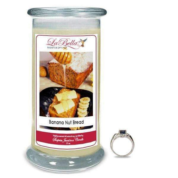 Banana Nut Bread Jewelry Candle - Fine Gifts La Bella Basket Company