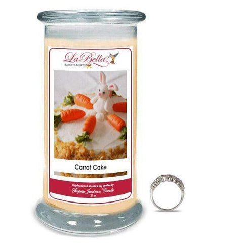 Carrot Cake Jewelry Candles - Fine Gifts La Bella Basket Company