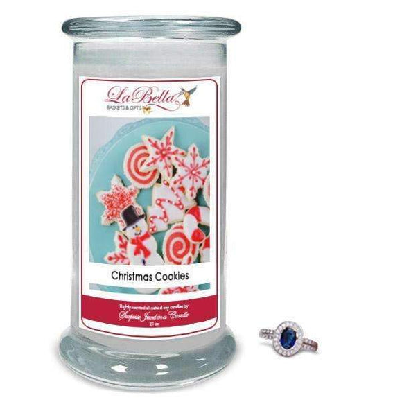 Christmas Cookies Jewelry Candles - Fine Gifts La Bella Basket Company