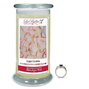 Sugar Cookies Scented Jewelry Candles - Fine Gifts La Bella Basket Company