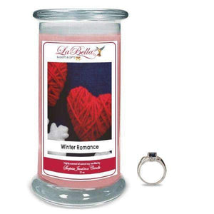 Winter Romance Scented Jewelry Candles - Fine Gifts La Bella Basket Company