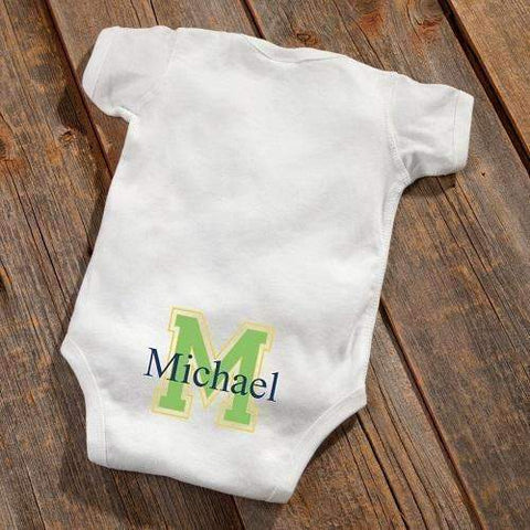 Baby Booty Personalized Boy Or Girl Onesie - Fine Gifts La Bella Basket Company