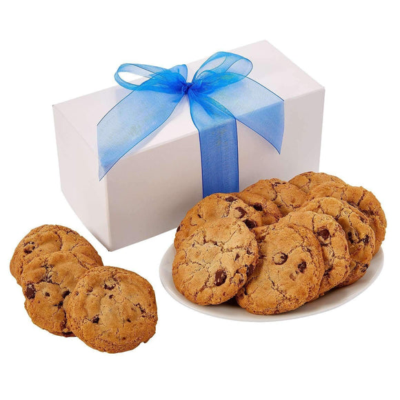 Gluten Free Cookies in White Box - One Dozen - Fine Gifts La Bella Basket Company