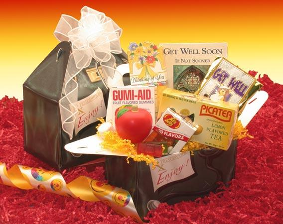 RX to Say Get Well Care Package - Fine Gifts La Bella Basket Company