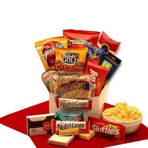 Study Snacks Care Package - Fine Gifts La Bella Basket Company