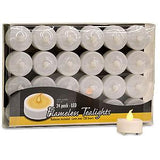 Flameless Tea Lights 24 PK