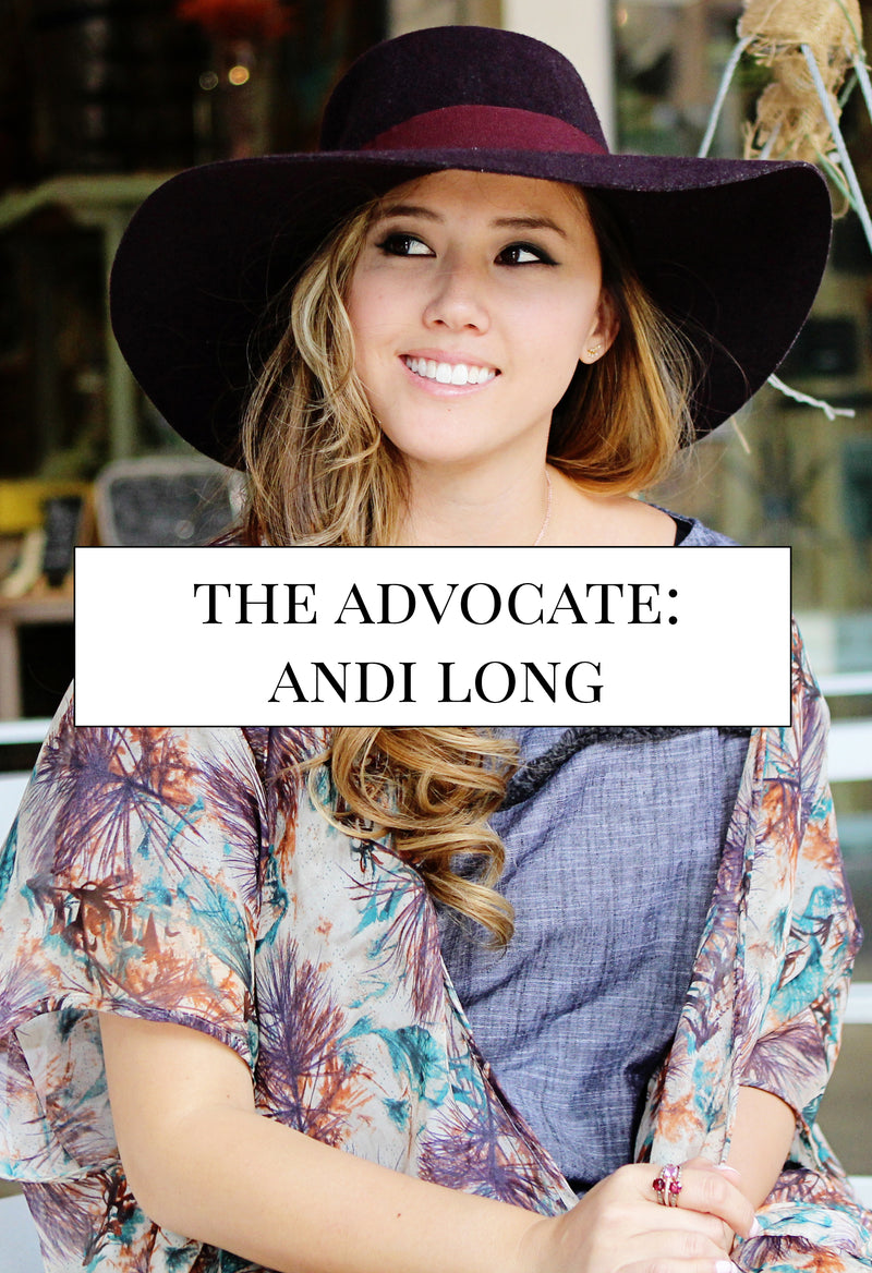 The Advocate - Andi Long