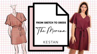 From Dress To Sketch: The Morena