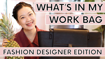 What's In My Work Bag: Fashion Designer Edition