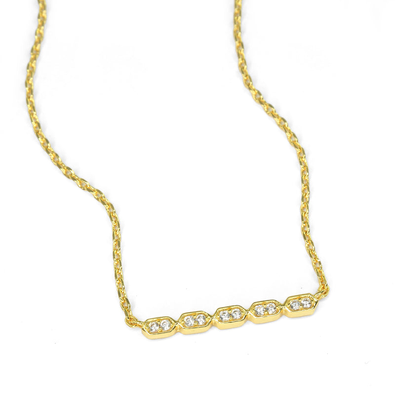 Kestan x AKR - Gold Mykonos Necklace - KESTAN Sustainable Modern Woman's Workwear