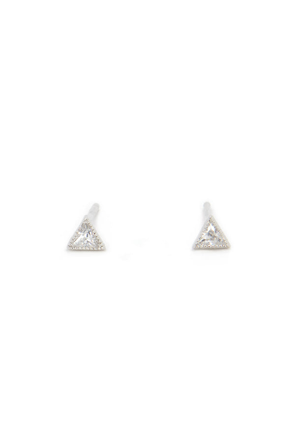 Aspen Earring - Sterling Silver - KESTAN Sustainable Modern Woman's Workwear