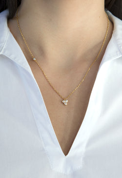 Avery Necklace - Gold - Kestan