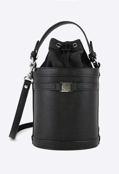 Burke Crossbody Bucket - Black - KESTAN Sustainable Modern Woman's Workwear