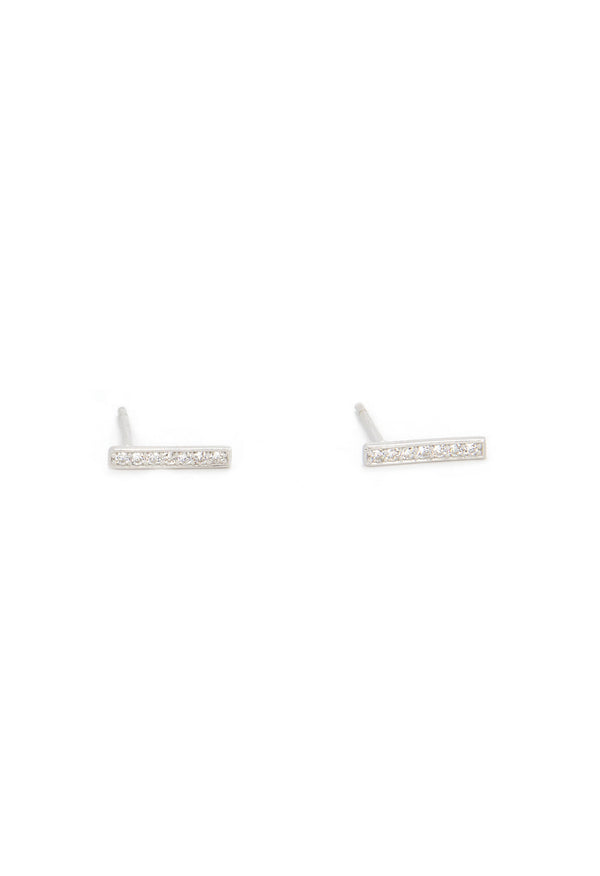 Darsy Earring - Sterling Silver - KESTAN Sustainable Modern Woman's Workwear