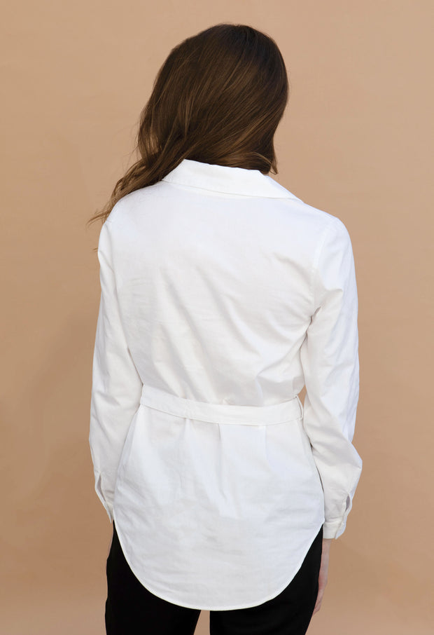 Harbor - White - KESTAN Sustainable Modern Woman's Workwear