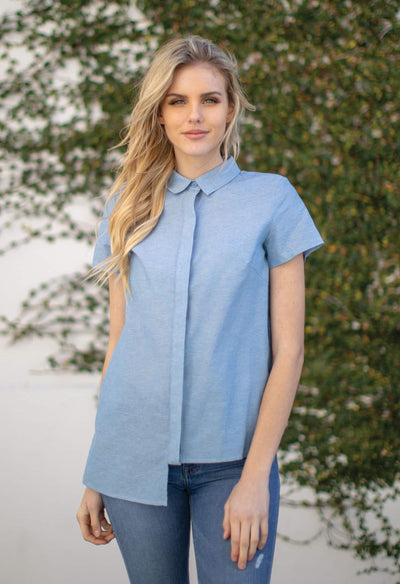 Taft - Chambray - KESTAN Sustainable Modern Woman's Workwear