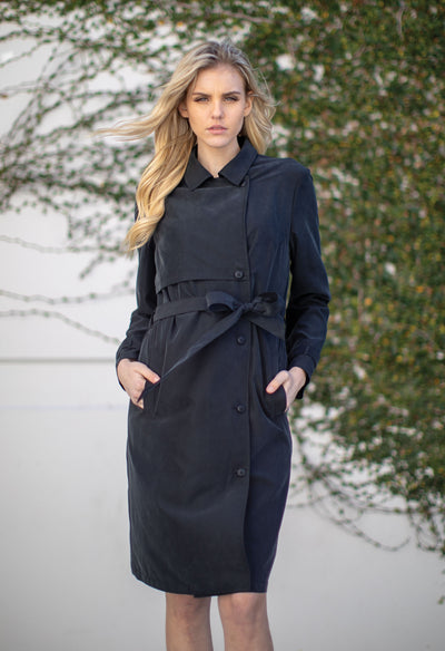Woodside - Black - KESTAN Sustainable Modern Woman's Workwear