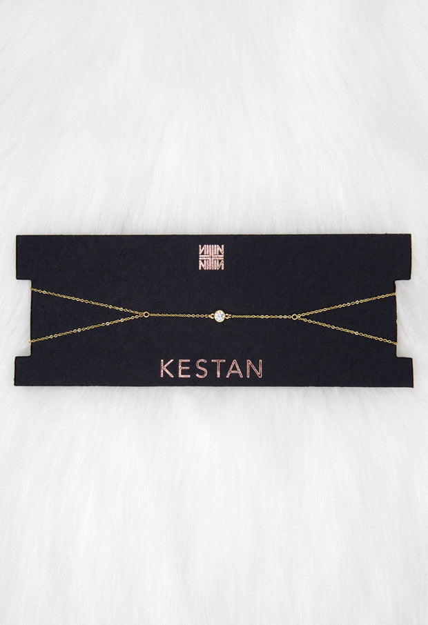 Quincy Choker - Gold - Kestan
