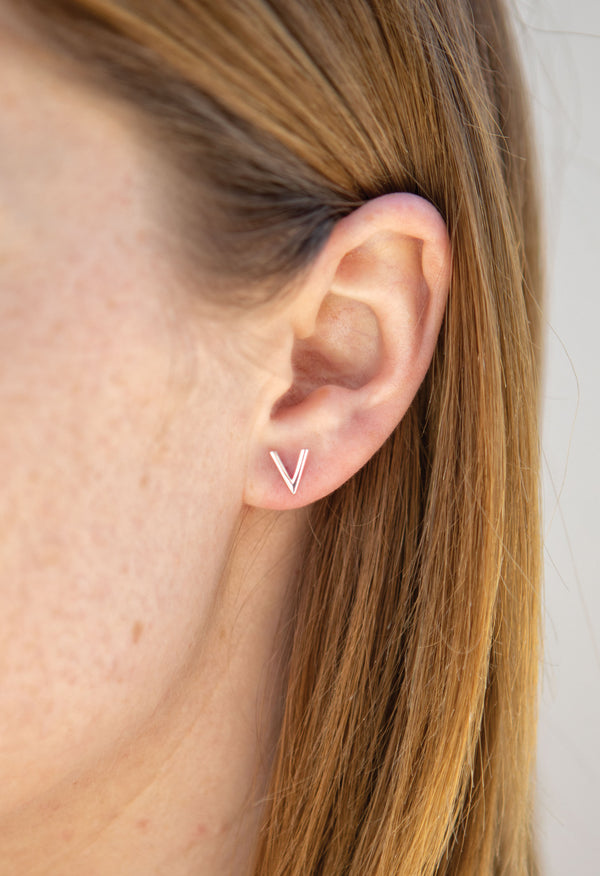 Vern Earring - Solid Sterling Silver - KESTAN Sustainable Modern Woman's Workwear