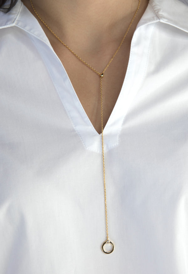 Lewis Necklace - Gold - Kestan