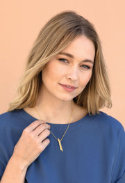 Kestan x AKR - Gold London Necklace - KESTAN Sustainable Modern Woman's Workwear
