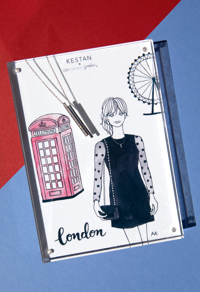 Kestan x AKR - Silver London Necklace - Kestan