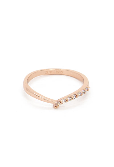 Lovell Ring - Rose Gold Vermeil - KESTAN Sustainable Modern Woman's Workwear