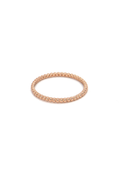 Margate Ring - Rose Gold Vermeil - KESTAN Sustainable Modern Woman's Workwear