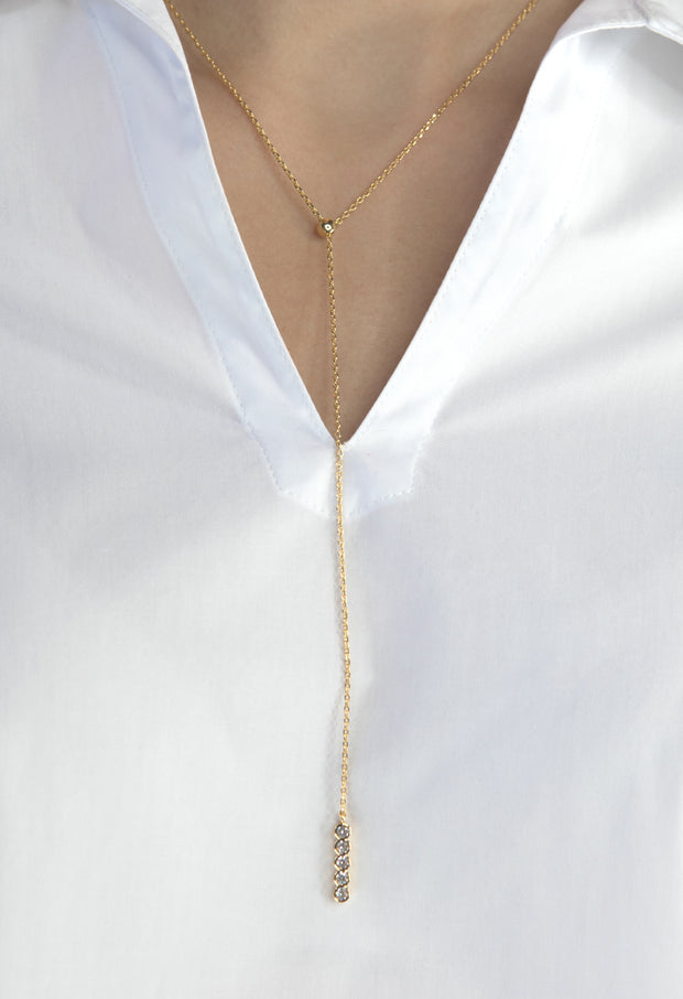 Mila Necklace - Gold - Kestan