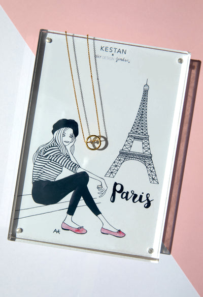Kestan x AKR - Gold Paris Necklace - Kestan