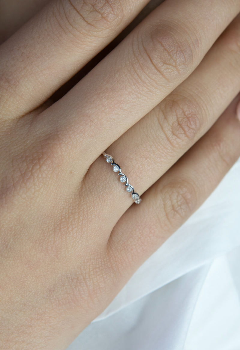 Perle Ring - Sterling Silver - Kestan