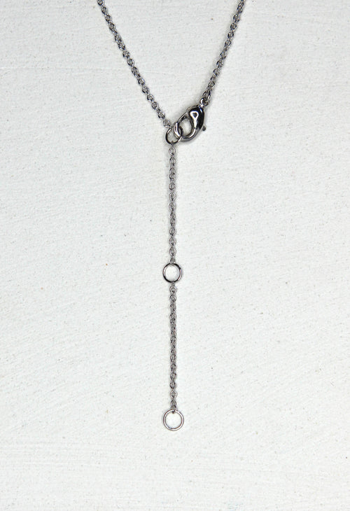 Kestrel Necklace - Silver Rhodium - Kestan