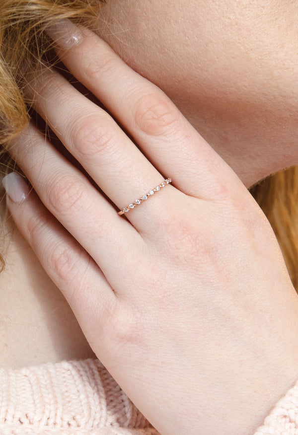 Sullivan Ring - Rose Gold Vermeil - Kestan