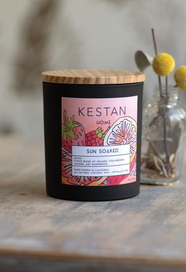 Sun Soaked - Candle - Kestan