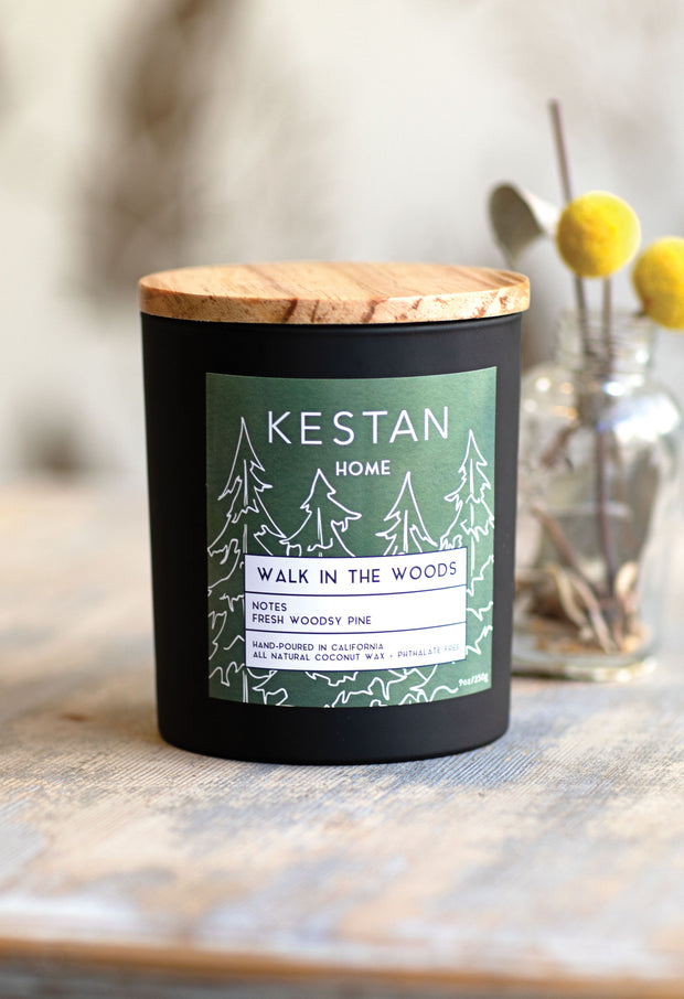 Walk In The Woods - Candle - KESTAN Sustainable Modern Woman's Workwear