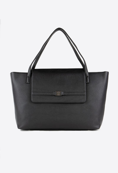 Westwood Tote - Black - KESTAN Sustainable Modern Woman's Workwear